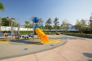 สวนส่วนกลาง Space Garden & Play Zone