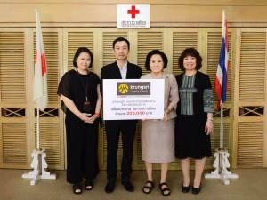 Photo_KCC Donates to Thai Red Cross Society