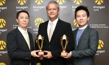 กรุงศรีคว้า 2 รางวัลจาก Thailand Best Employer Brand Awards 2018